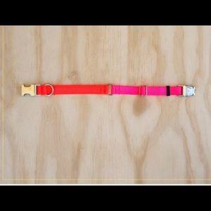 Two tone Nylon Collar - Medium